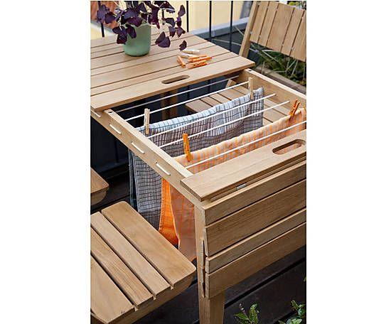 Gartentisch Dry mit Wäscheständer, B 106 cm | Garten | Pinterest ...