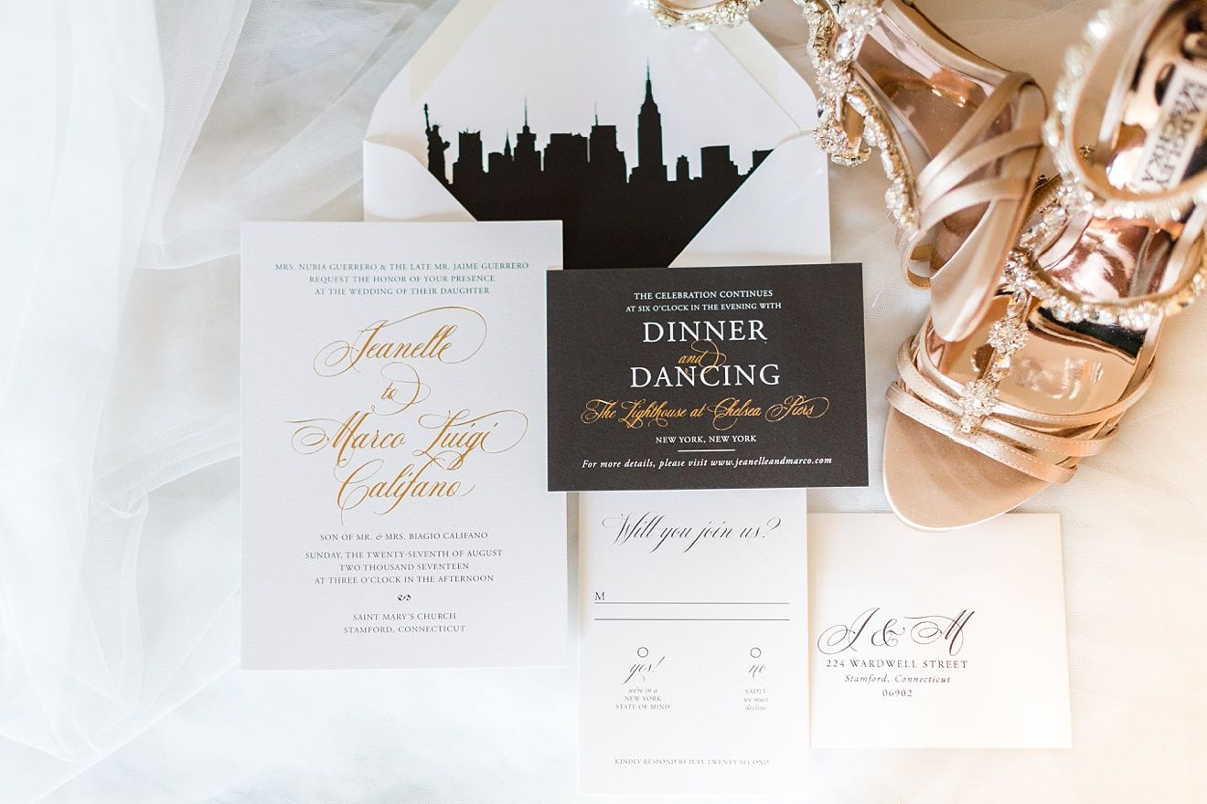 Modern NYC Wedding at The Lighthouse Chelsea Piers by Jessica Haley ...