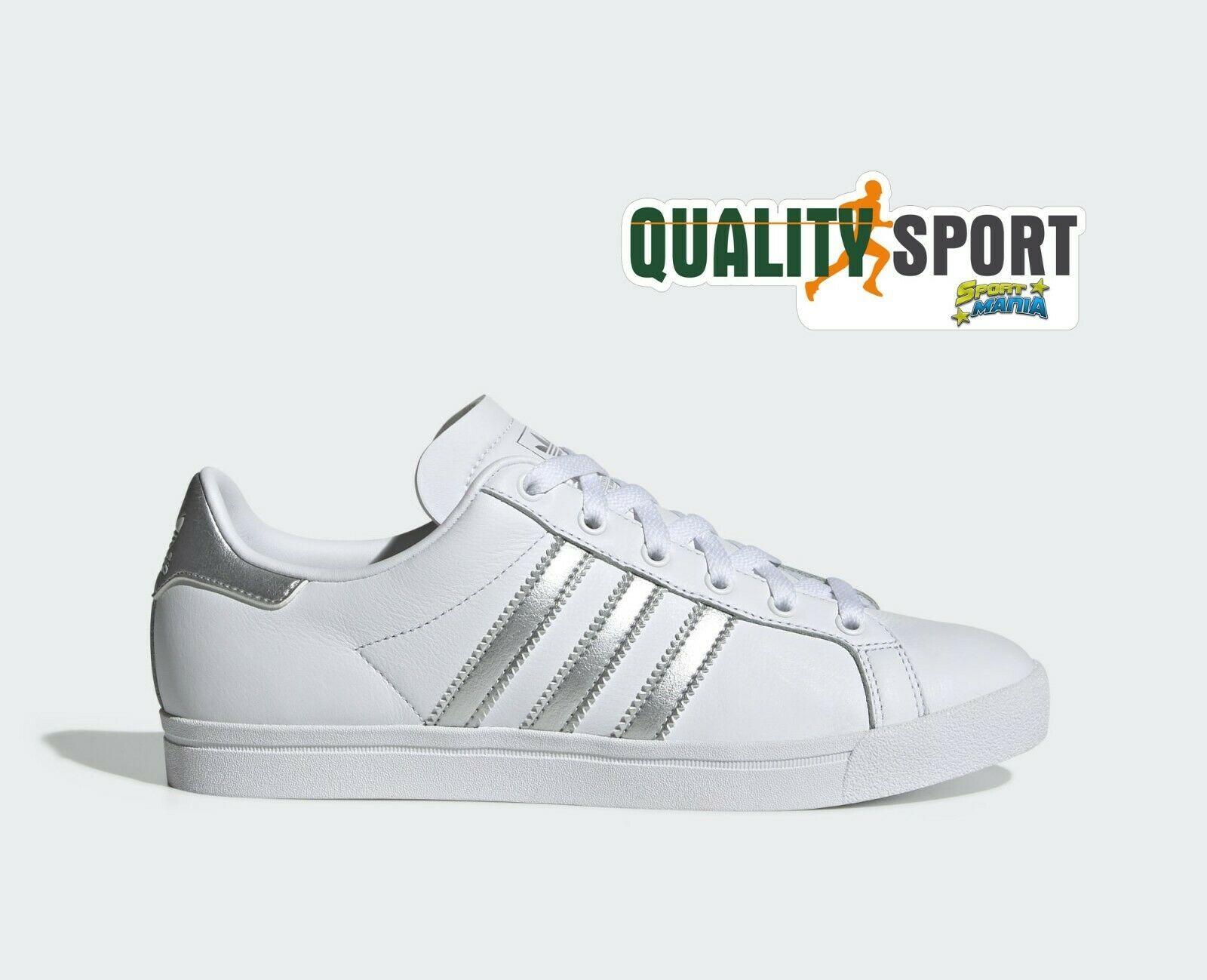 adidas donna scarpe sportive argento