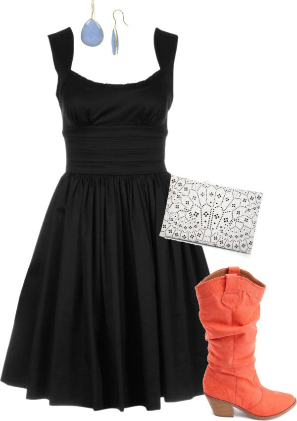 """""""Country LBD"""" by misstinamaria on Polyvore"""