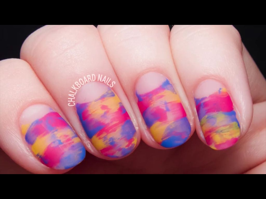 Gorgeous simple nail design. Facebook - Chalkboard Nails | Nails ...