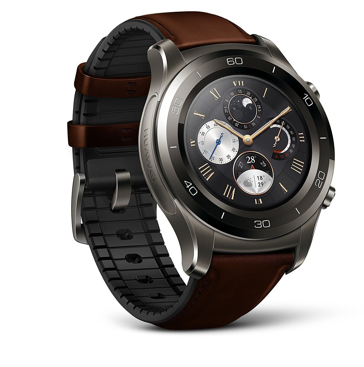 Huawei Watch 2 Classic Brown Smart watch iphone, Smart