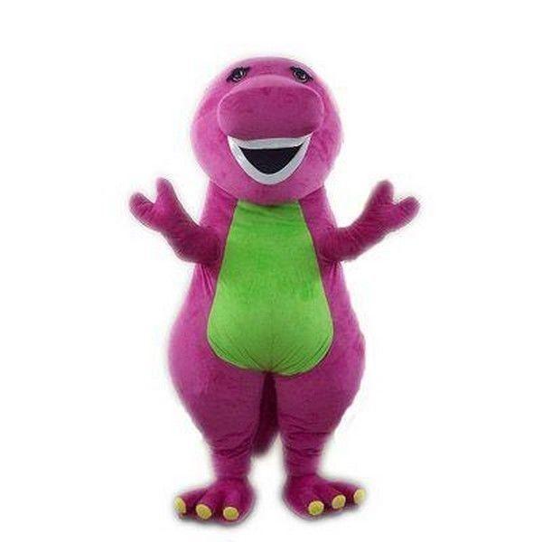 Know site adult barney costume dinosaur purple