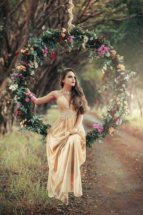 Teen glamour flower