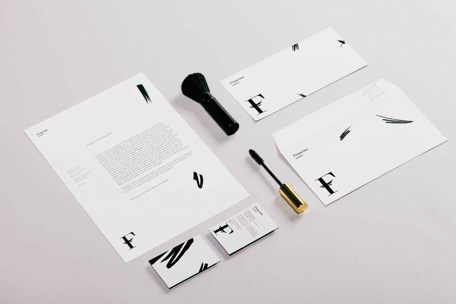 New Branding for Francina Models by Mucho — BP&O