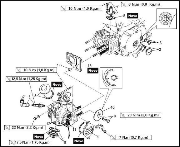 Yamaha Crypton T105 Tutorial De Desarme Pleto: Wiring Diagram Of Yamaha Crypton At Jornalmilenio.com