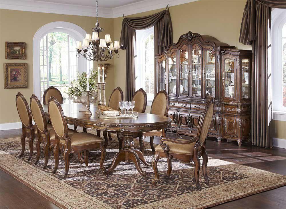 michael amini dining set on Najvazhlivishi Mebli Vid Michael Amini Dlya Svyatkuvannya Novogo Roku Dining Room Design Dining Room Table Dining Room Furniture