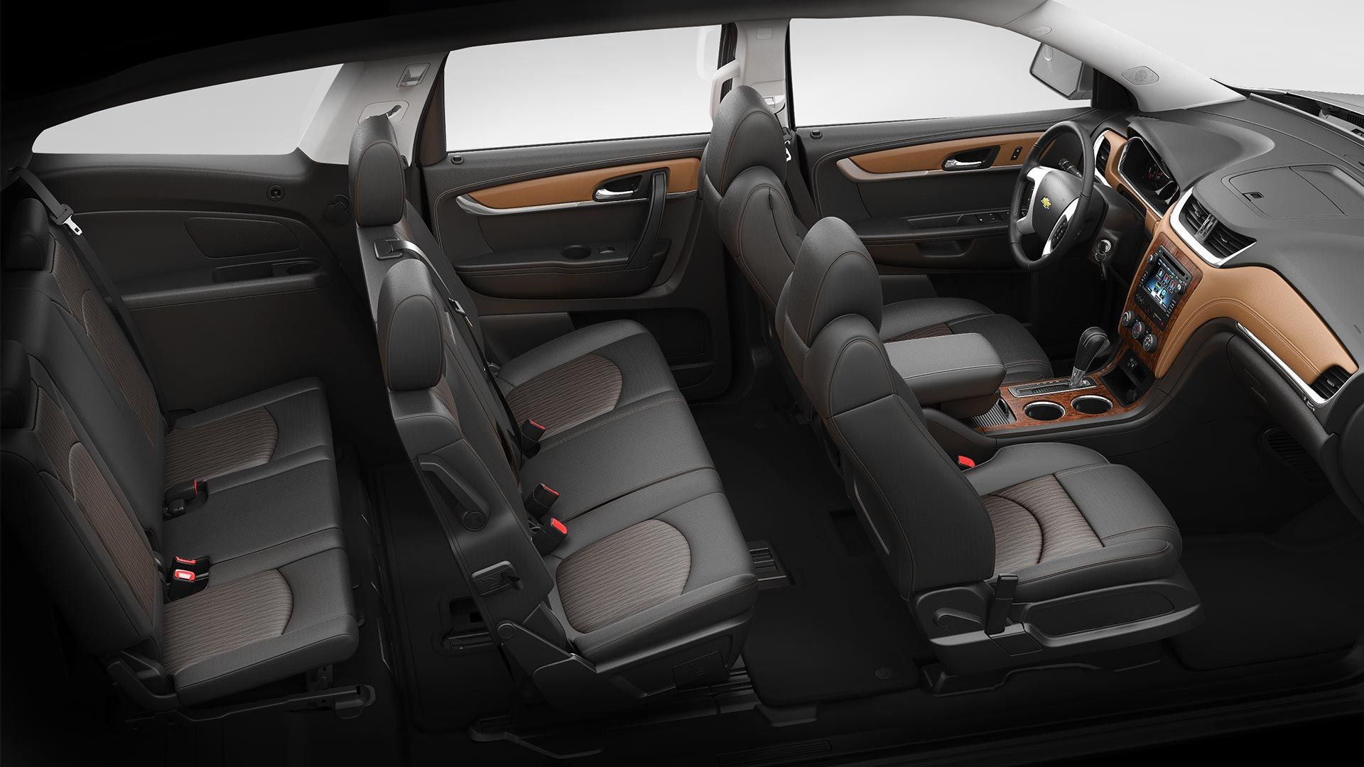 love the black interior and soooo roomy 2014 chevy traverse passengers cargo wheels. Black Bedroom Furniture Sets. Home Design Ideas