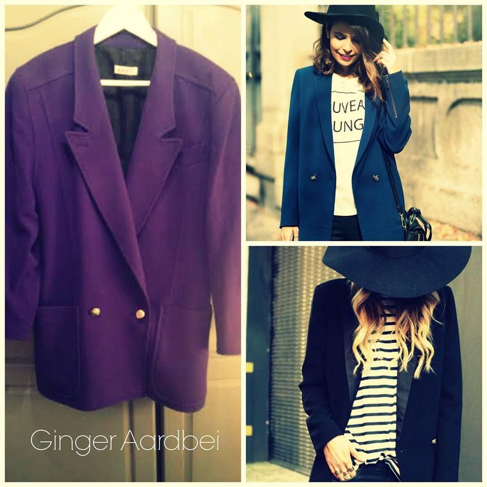 blue boyfriend jackets..