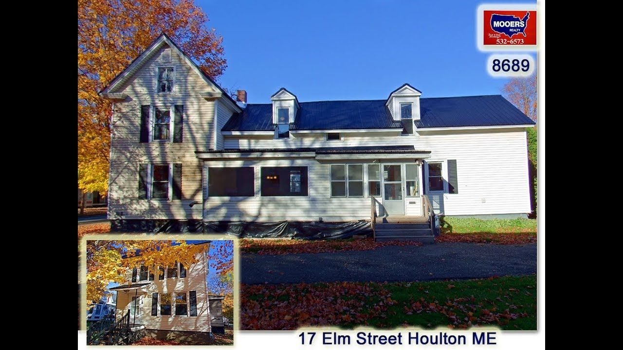 Homes for sale in houlton maine 17 elm st mooers realty