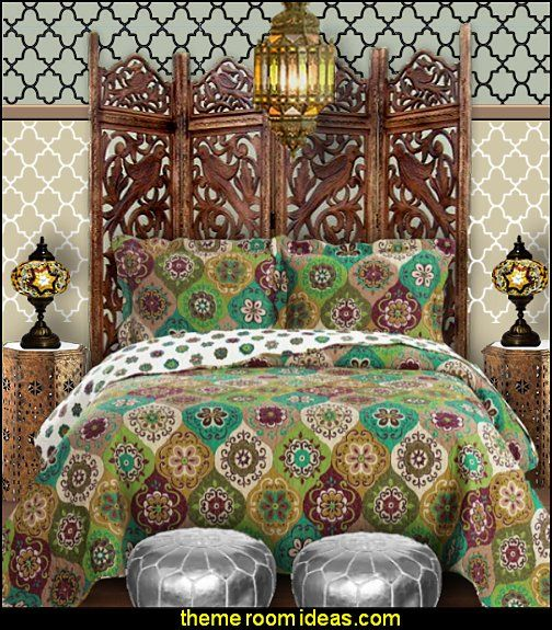 Moroccan Bedding Furniture Lamps Wall Decorations