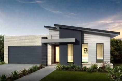 Single Story Home Exterior contemporary single story house facades australia - google search