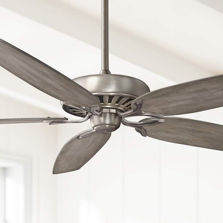 72 Great Room Traditional Burnished Nickel Ceiling Fan 31v57 Lamps Plus Ceiling Fan Traditional Ceiling Fans Fan