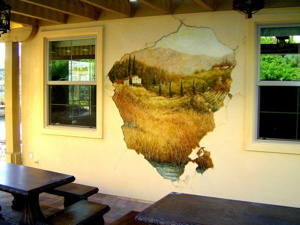 3D Wall Painting simple painting wall murals design ideas - best wall murals