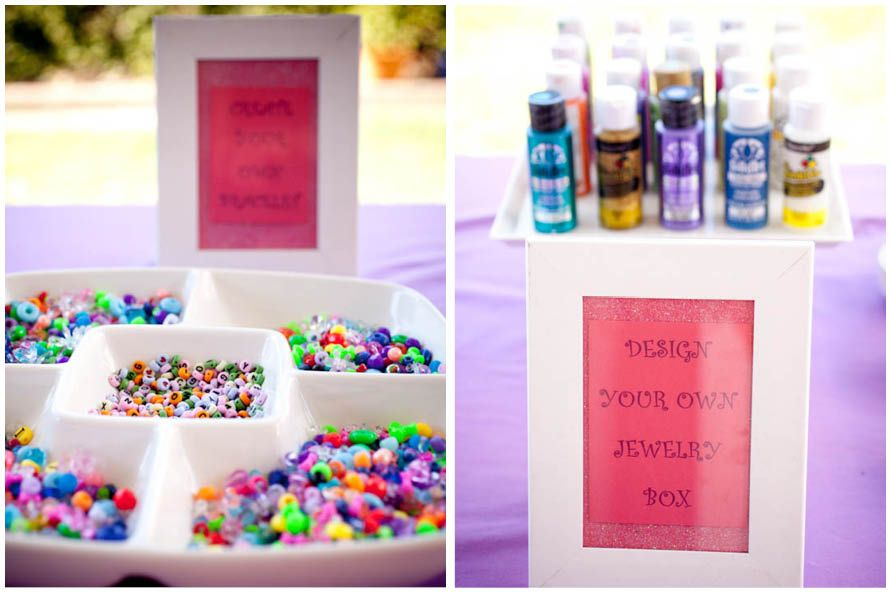 Cute Jewelry Themed 8th Birthday Party Birthdays Childrens