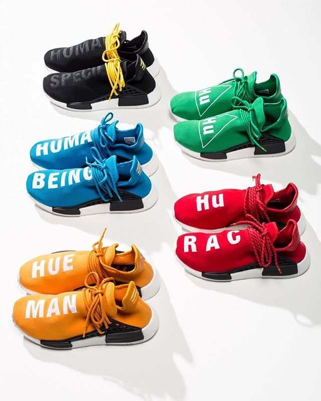 best sneakers 7a12a 29b54 adidas x Pharrell Williams HU Race NMD    Available Thursday 9 29 at  Undefeated La Brea, Silverlake and San Francisco. Doors will be opening at  10am for ...