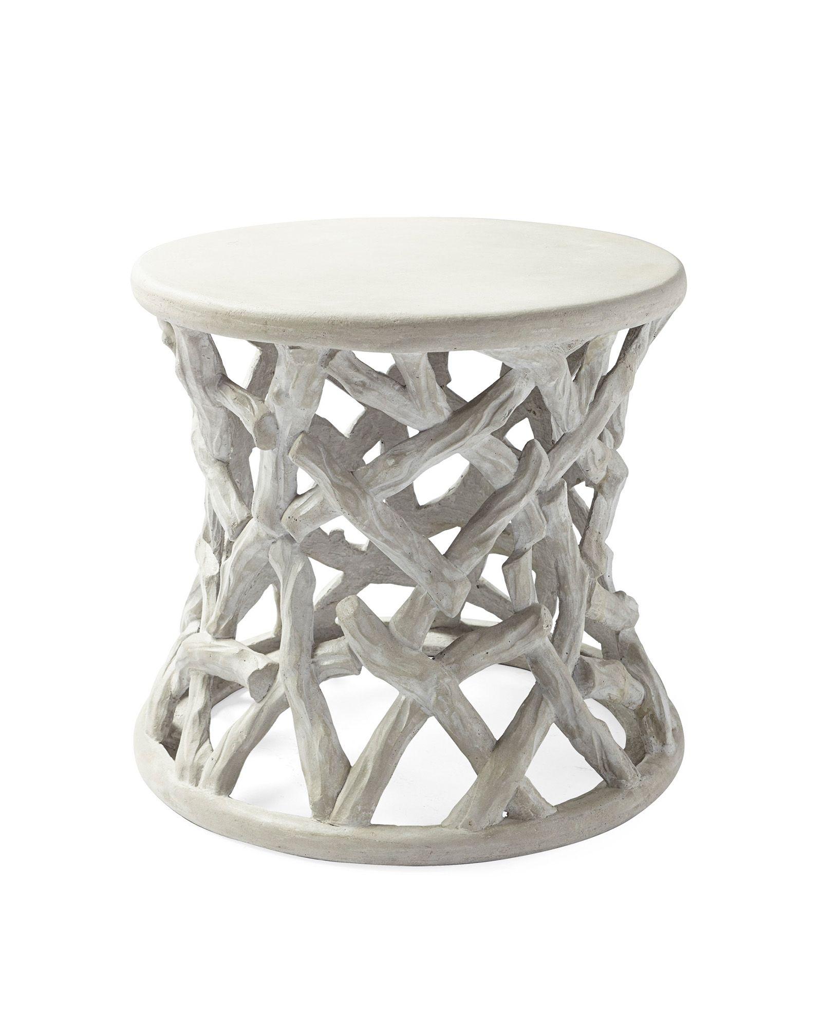Vineyard Side Table Side Table Furniture Design Wooden Faux Bois