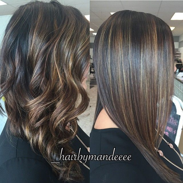 Straight or Curly?! ❤️ #redken #olaplex #unitehair #balayage #behindthechair #styleyourstory #hairpainting #modernsalon #straightvscurly #cilantrohairspa #hairbymandeeee