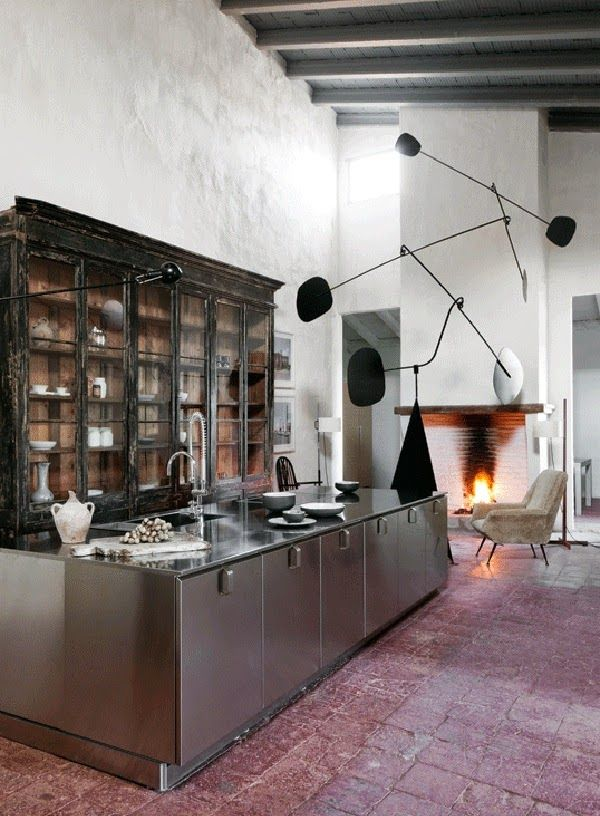 A 15th Century Palace As Home Minimalist Decor Kitchen Design Minimal