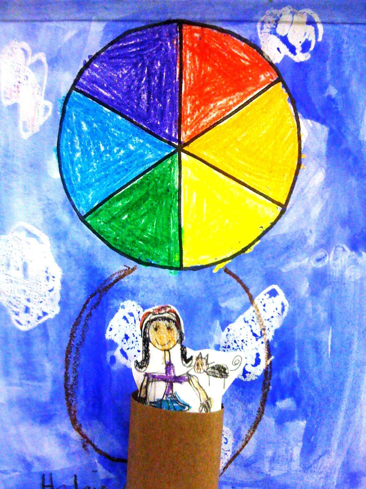 Artful Artsy Amy Lesson Plan Wednesday Color Theory Hot