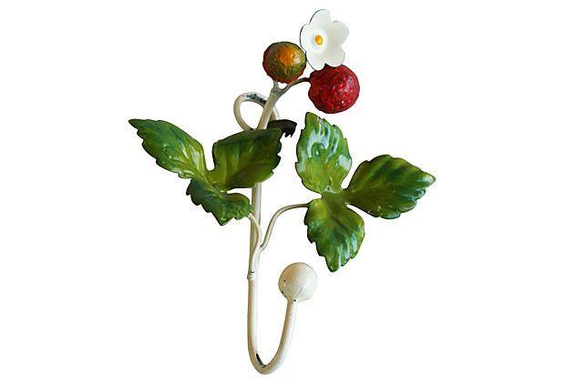 Italian Strawberry Hook on OneKingsLane.com $99 Lemon Hook at PAE $10