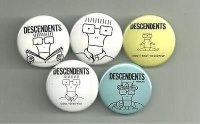The Descendents. Milo Set of 5