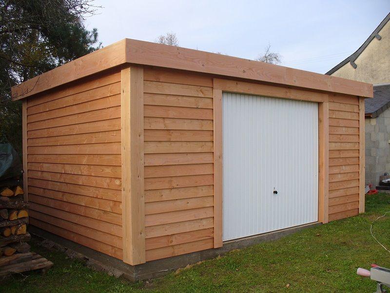 Garage en bois Nano-Home Brico Car park mood board Pinterest