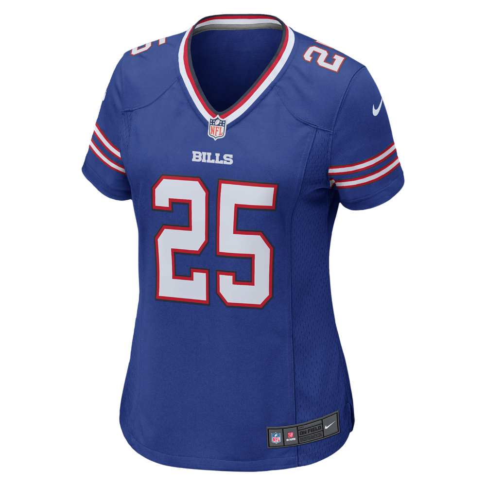 NFL Buffalo Bills (LeSean McCoy) Women's Football Home Game Jersey