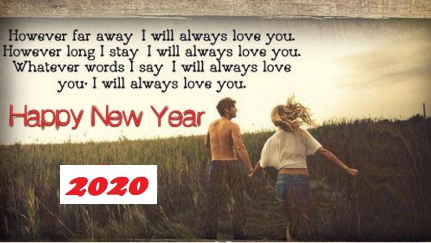 225+ Romantic Happy New Year 2020 Wishes For Ex Boyfriend