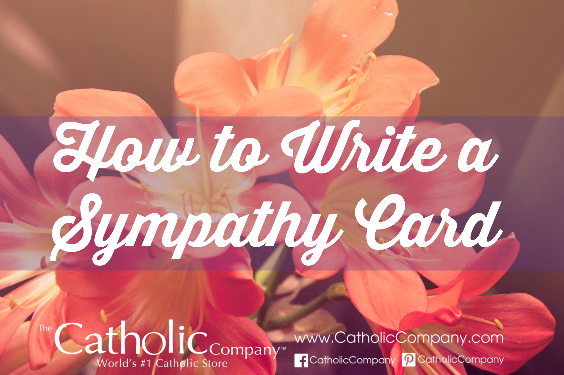 How to Write a Sympathy Card - Words of Sympathy | The ...