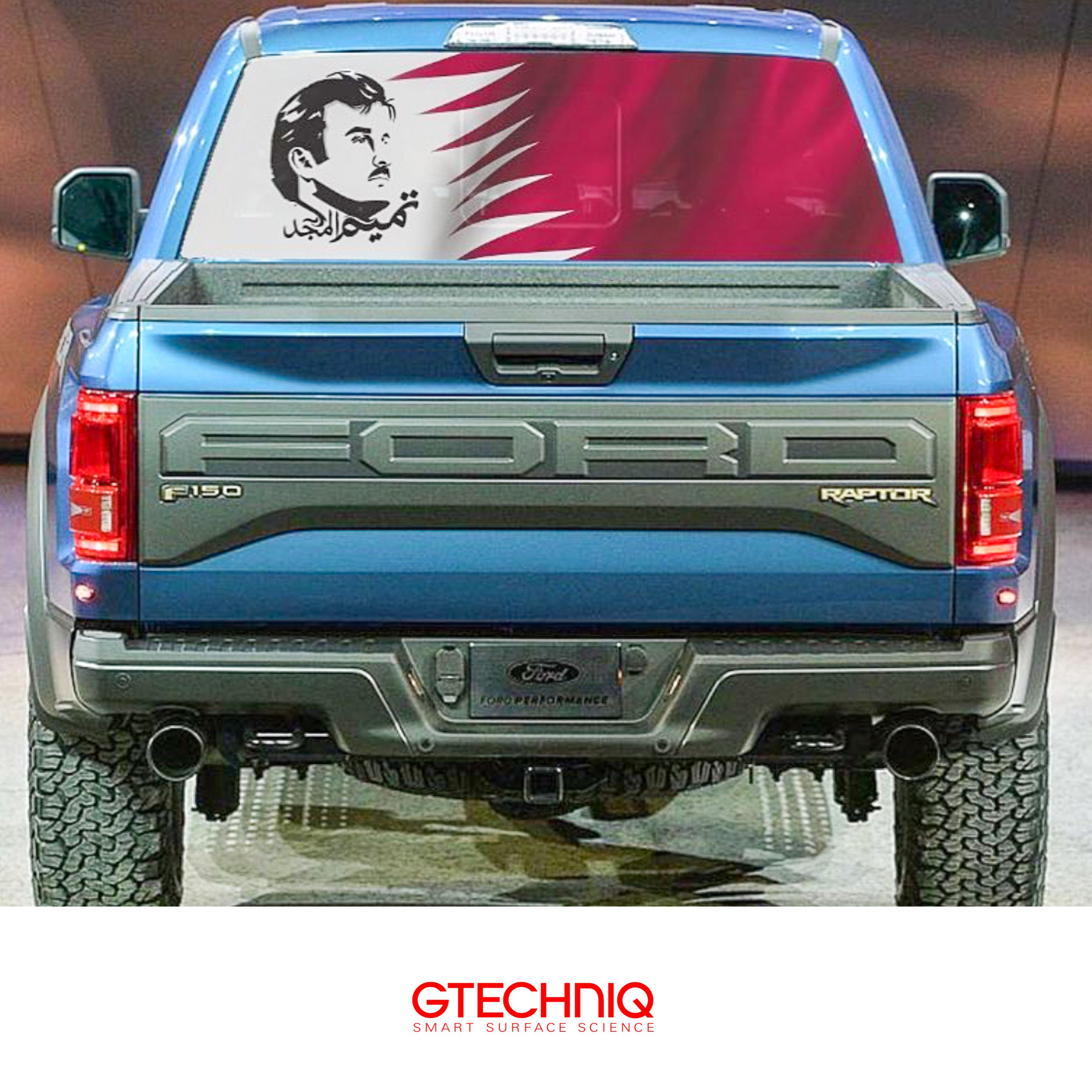 Ford 150 Raptor Firtstly Wrapped Then Protected By Gtechniq And