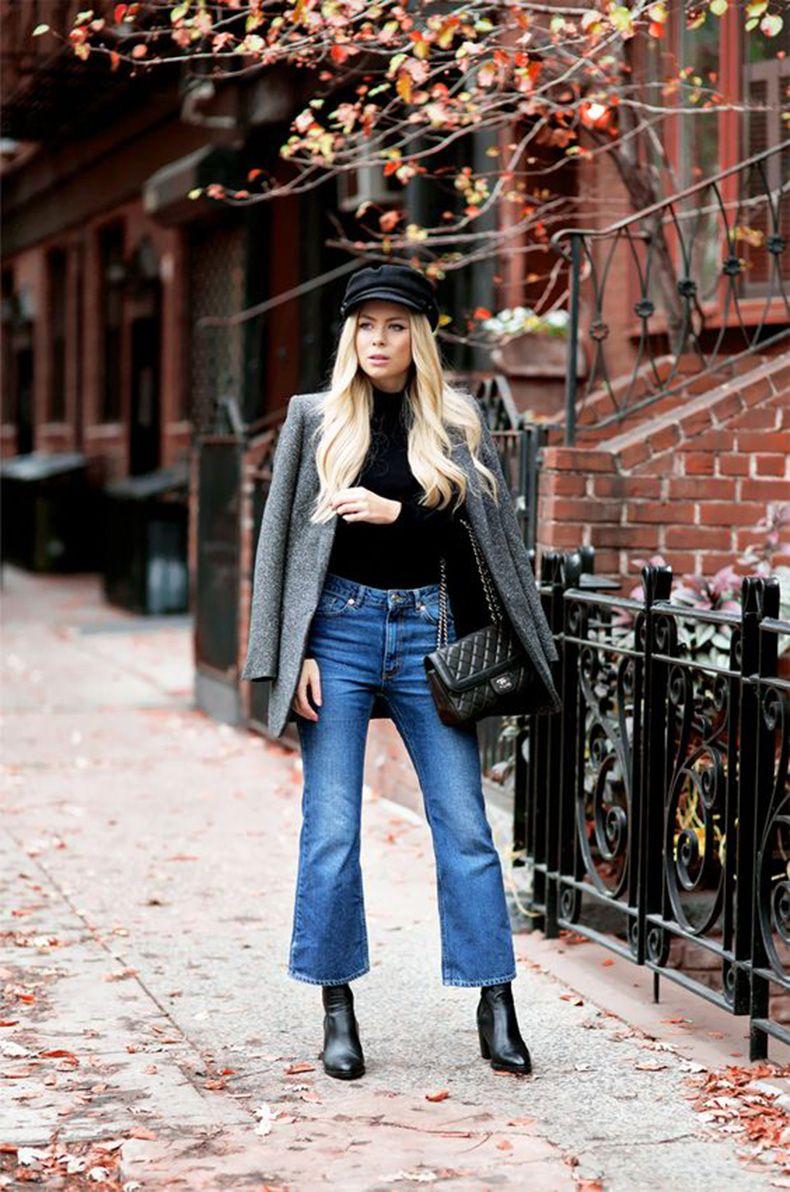 aa4a91a2a126 Nueva Tendencia En Denim: Jeans Cortos Acampanados! 7 Tips Para ...