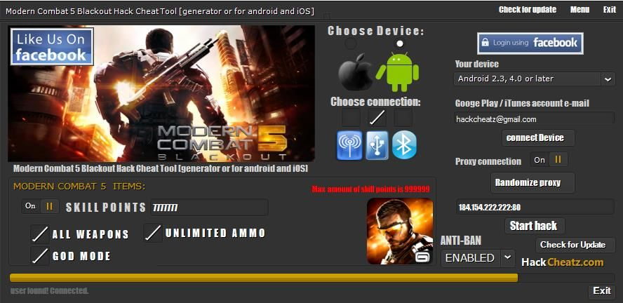 Modern combat 5 blackout 4. 1. 2b para android download em português.