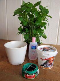 DIY make your own sky planter up side down flower pot