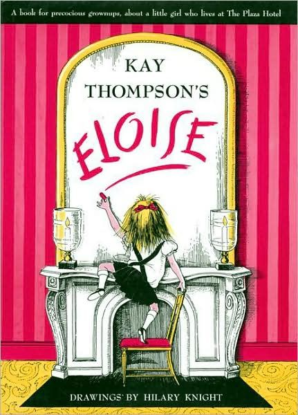 Eloise and Nanny live at the Plaza hotel in New York City. Every time I read this book I laugh my head off. Ages 6 to 106.