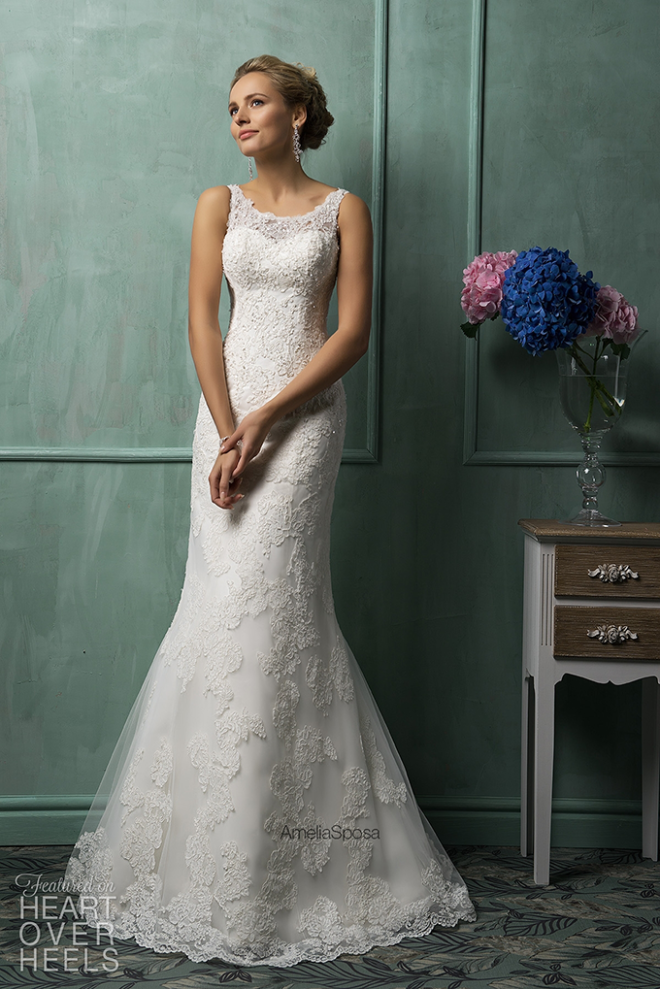 Amelia Sposa 2014 Wedding Dress Style Gracie