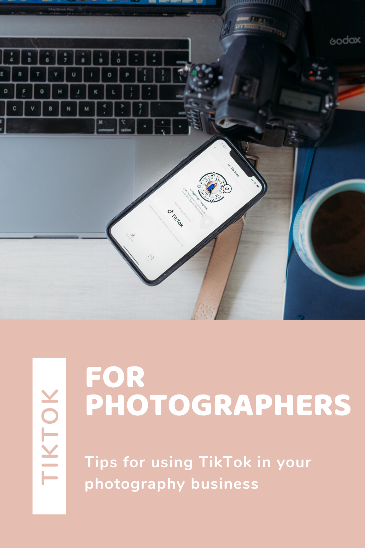 Tiktok For Photographers Emily Jenks Photography Education Website Photography Business Marketing Photography Business Plan Photography Business