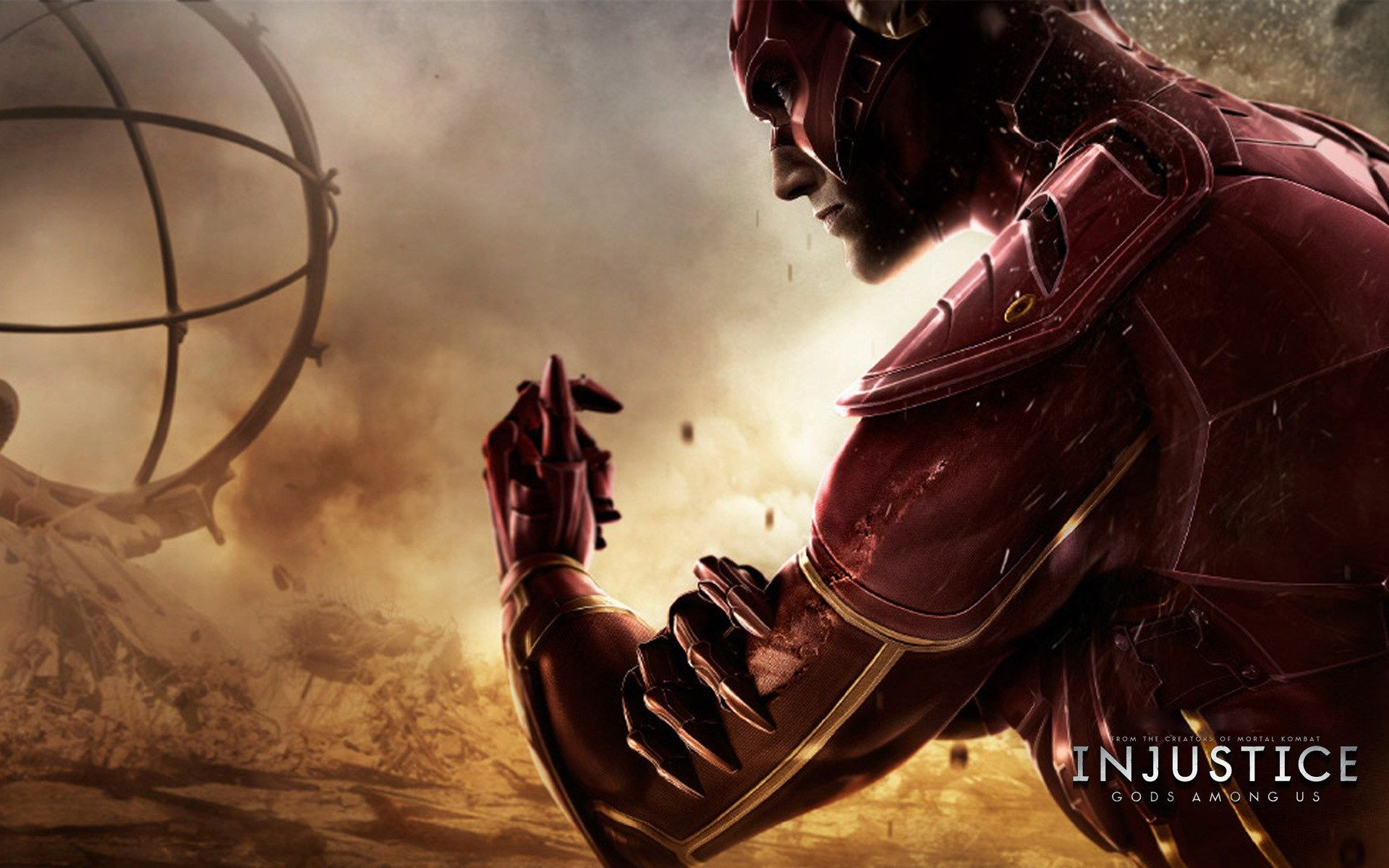 Free Download Pictures Of Injustice Gods Among Us Flash Characters Flash Wallpaper Injustice