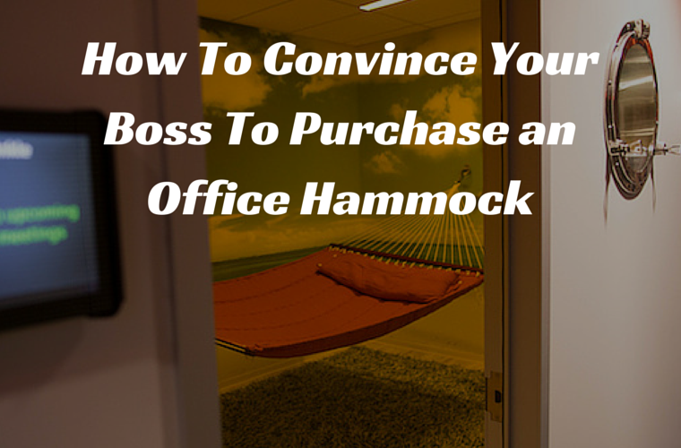 Charming How To Convince Your Boss To Purchase An Indoor Hammock Http://blog.