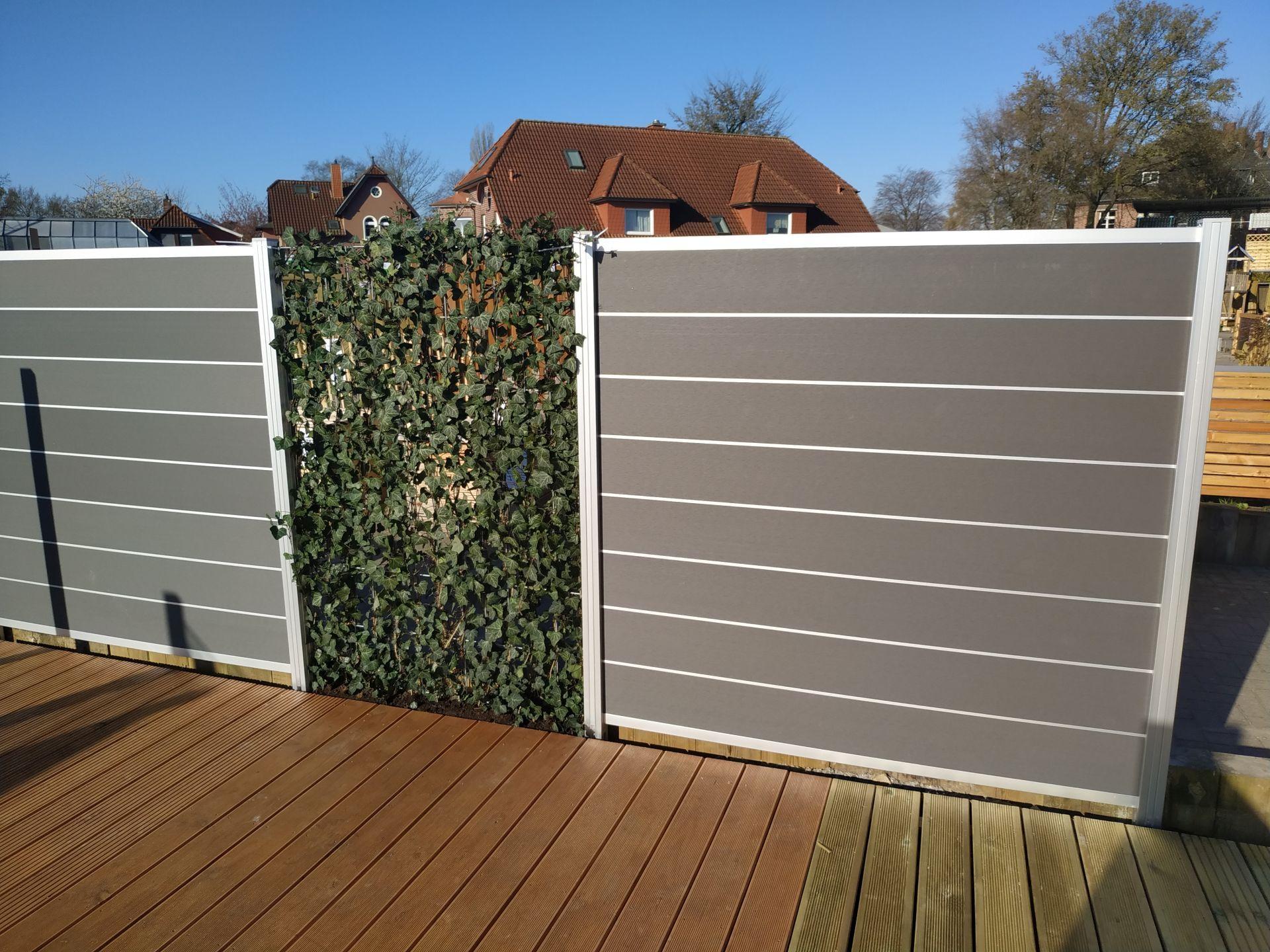 Wpc Pflege Fur Sichtschutz Zaun Terrassenboden Traumgarten