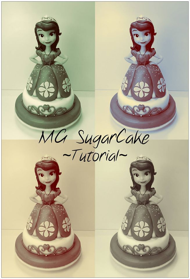 MG SugarCake - Tutorial Principessa Sofia