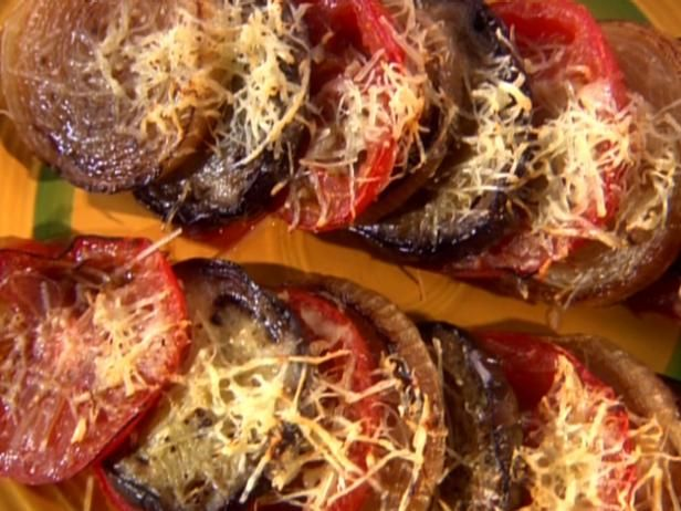 Get Melissa Darabian's Tomato and Eggplant Tian Recipe from Food Network