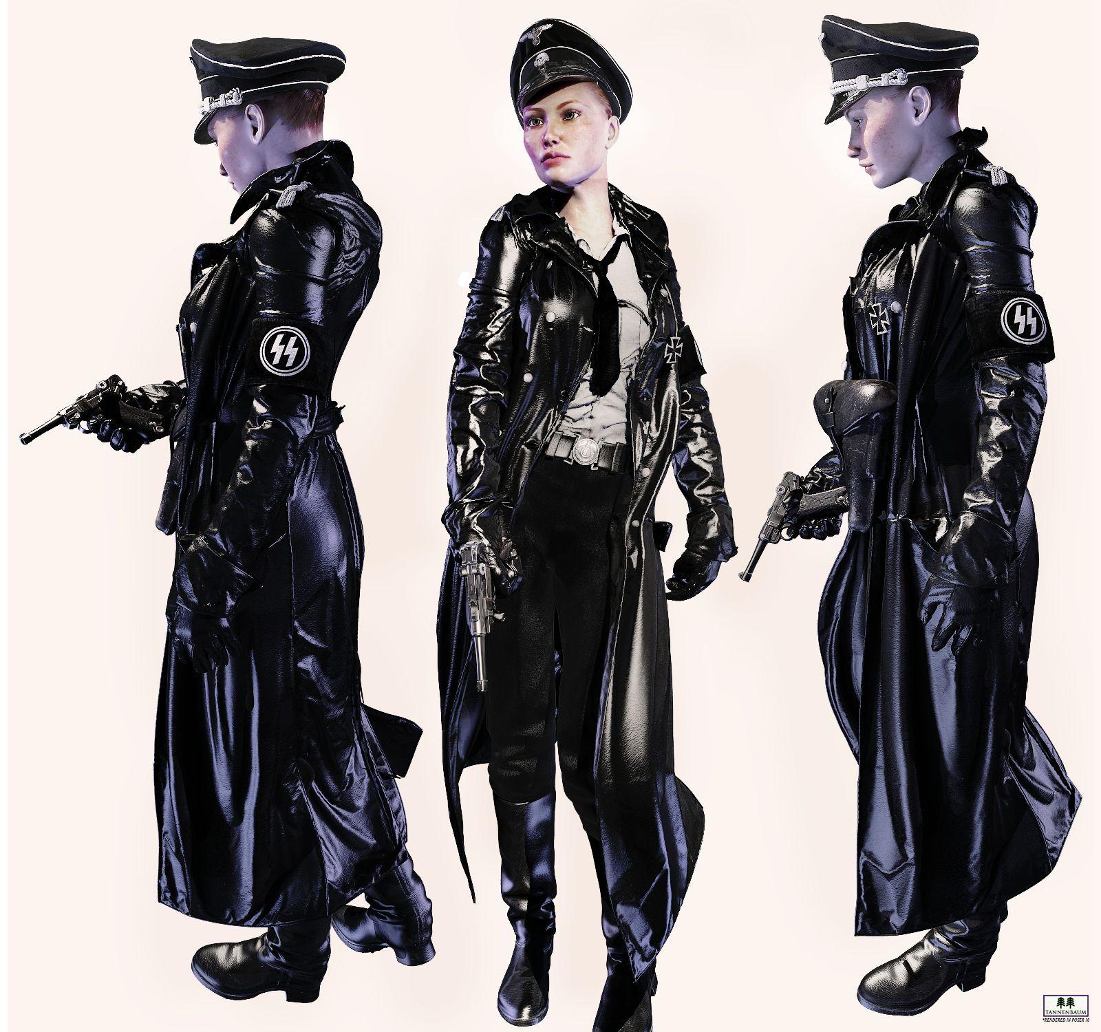 Waffen Ss Uniform Black