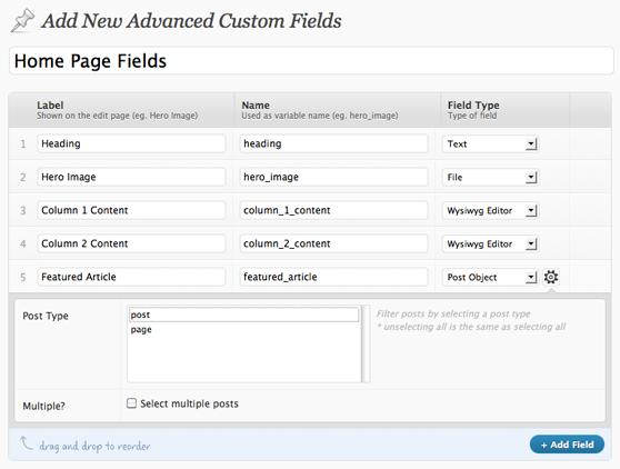 Acffields to create wordpress custom page template coding acffields to create wordpress custom page template maxwellsz