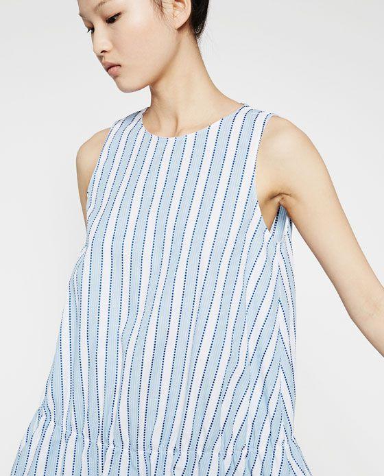 Image 6 of STRIPED DRESS from Zara