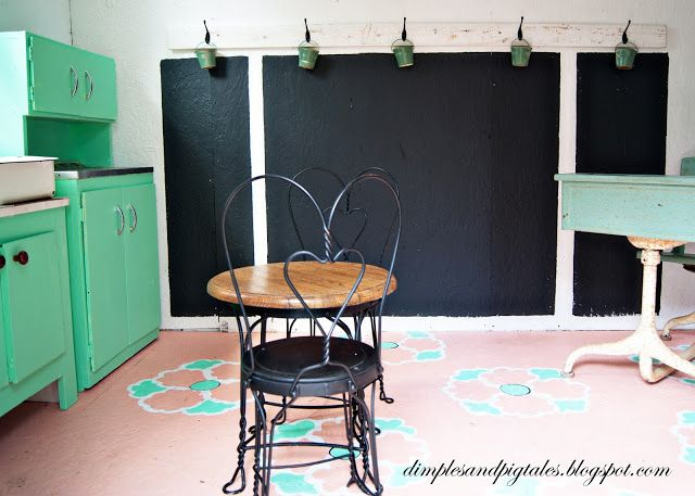 Playhouse Makeover Reveal Wainscoting Styles