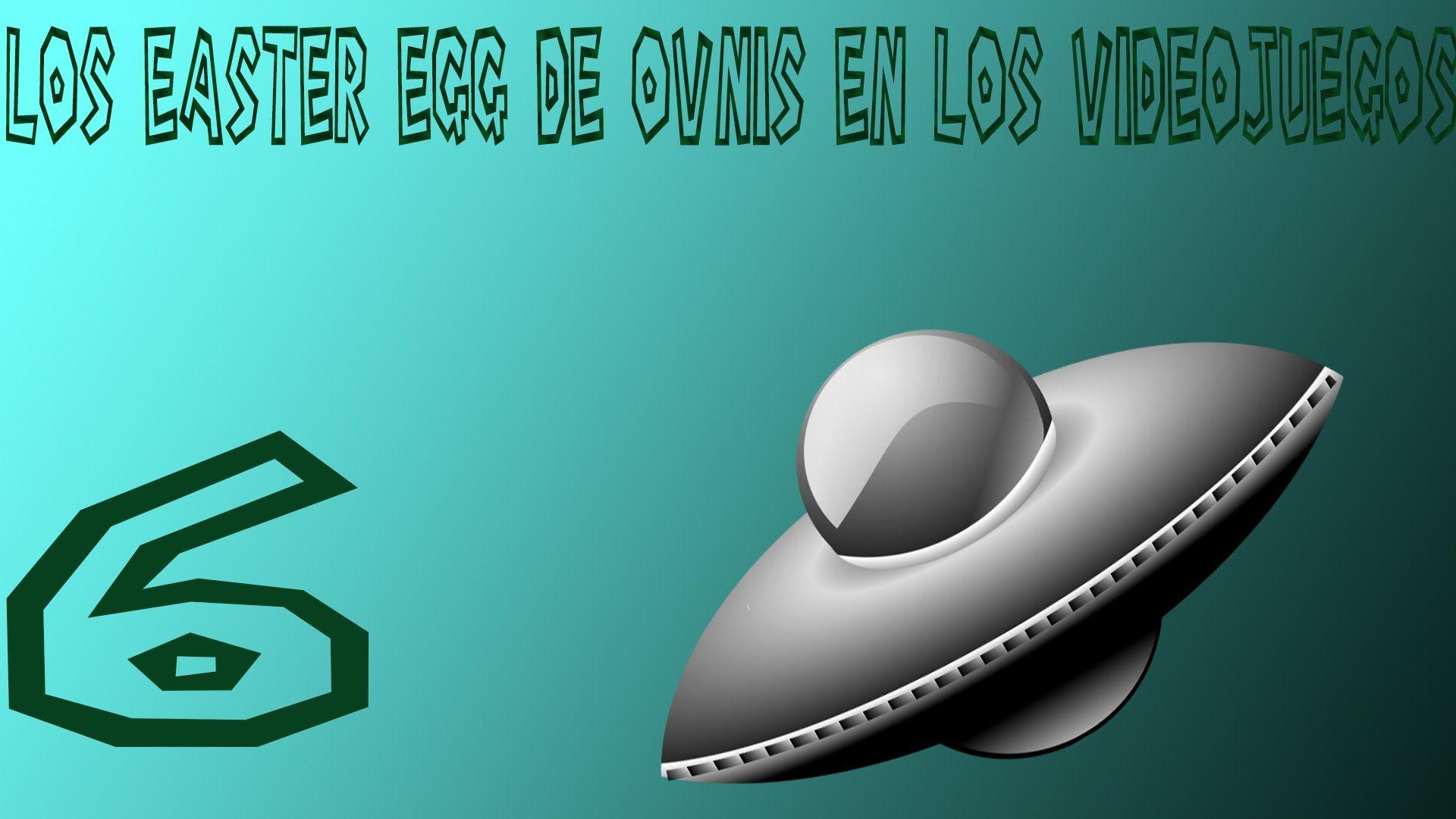 Top | 6 los mejores easter eggs de ovnis en los videojuegos