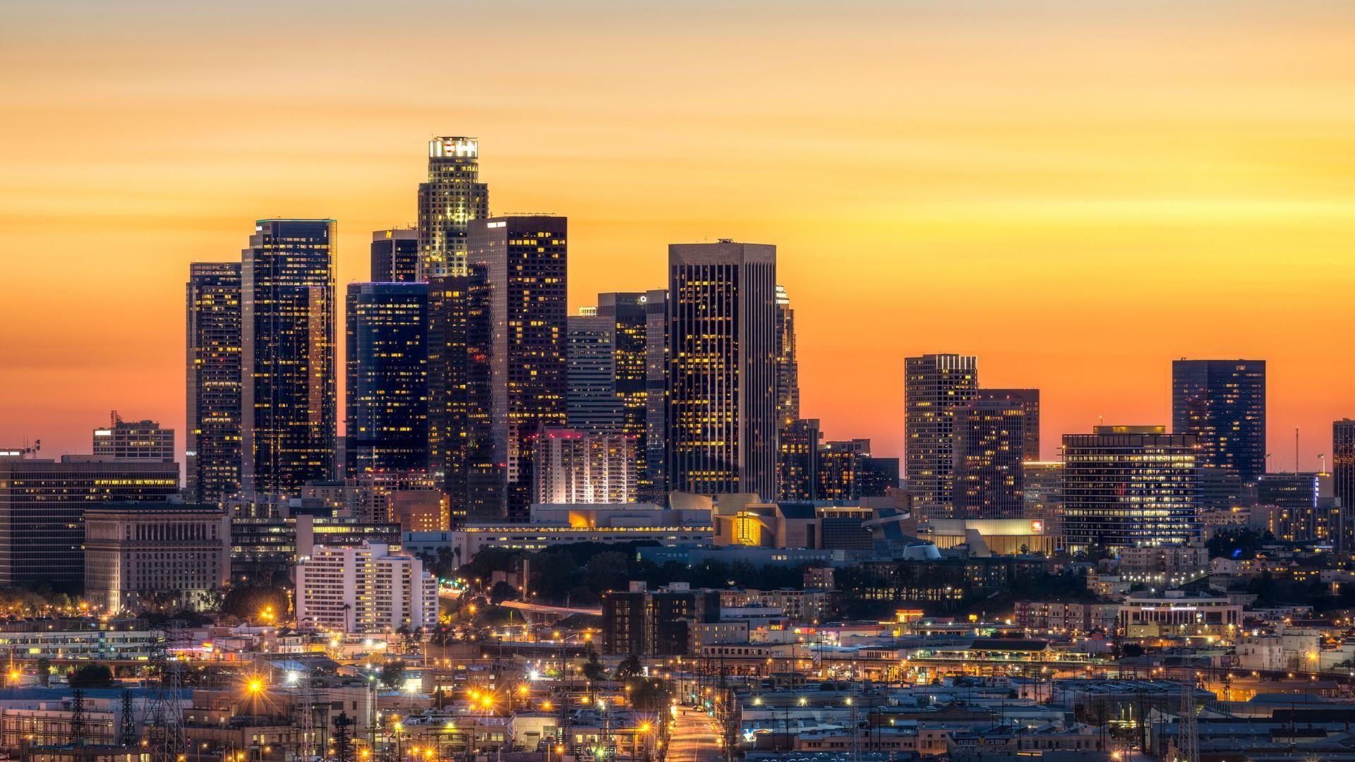 Los Angeles Skyline Luxe Travel Socal Los Angeles Skyline Los Angeles Sunset Skyline