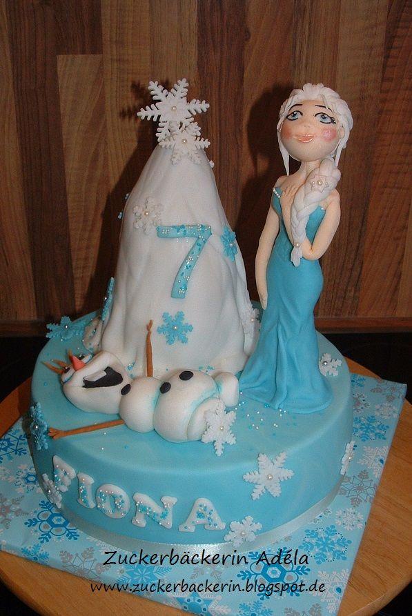 Eiskonigin Olaf Torte Geburtstagsparty Eiskonigin Frozen