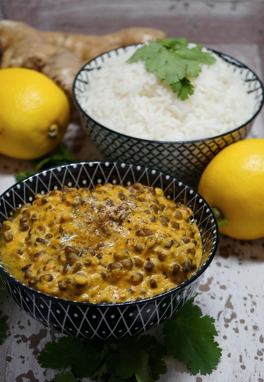 Dal Bukhara - Creamy Black Lentil Curry - Cremiges Urdbohnen Curry ...